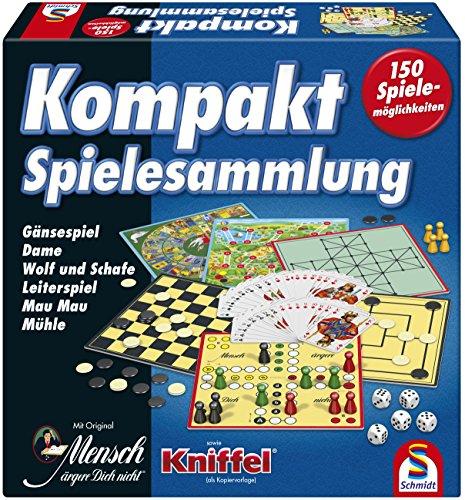 [amazon-Primeday] Schmidt Spiele 49188 Kompakt Spielesammlung