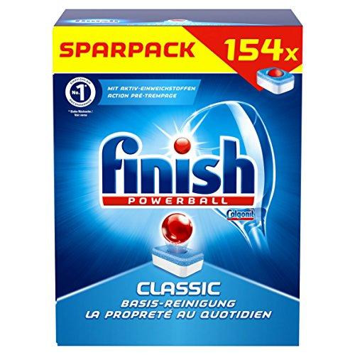 [Amazon Prime Day] Finish/Calgonit Classic, Spülmaschinentabs, 154 Tabs (0,06€/Stück)