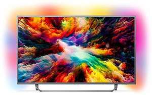 [Prime Day] Philips 65PUS7303/12 65 Zoll LED Ambilight, 4 K Ultra HD Triple Tuner, Smart TV