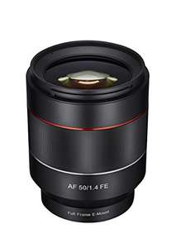 [Prime Day] Samyang 50mm F/1,4 Objektiv Autofokus Sony E-Mount Vollformat (für Sony a7 a7II a9 a6000 u.a.)