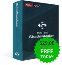 MiniTool ShadowMaker Pro(Backup etc.) kostenlos!