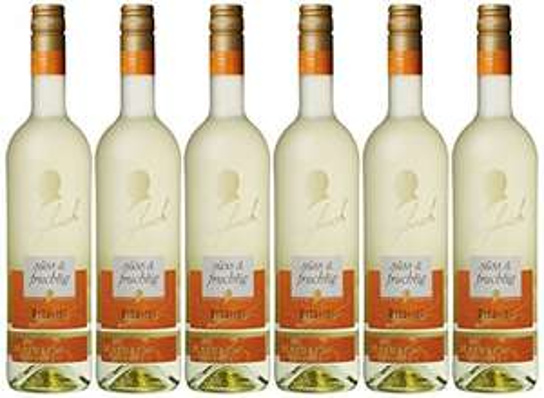 Maybach Riesling QbA Weißwein Süß und Fruchtig  (6 x 0.75 l)  [Riesling am Prime Day]