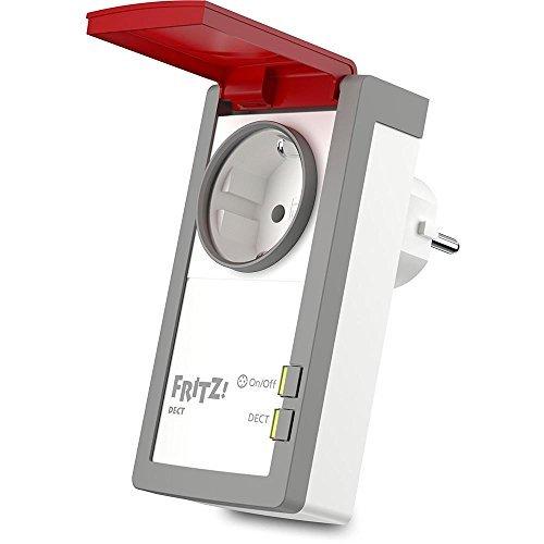 [Amazon, nur Prime] AVM FRITZ!DECT 210 intelligente Steckdose für Smart Home, mit Spritzwasserschutz (IP44), Stromverbr. messbar