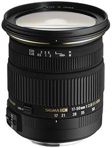 [Amazon Prime Day] Sigma 17-50 mm F2,8 EX DC OS HSM-Objektiv (77 mm Filtergewinde, Canon + Nikon)