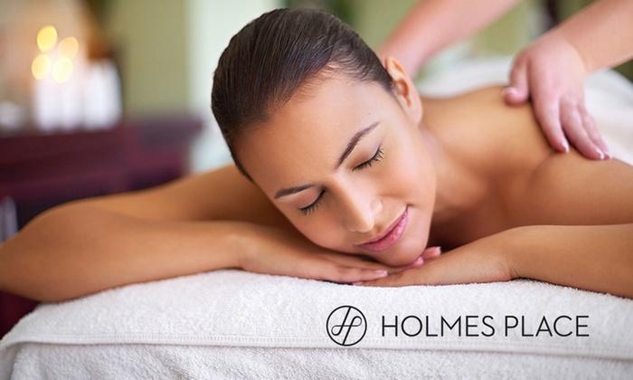Summer-Day-Spa mit Massage + Holmes Place Tageskarte für 1 oder 2 Personen im Beauty Place SPA in Berlin (bis zu 60% sparen*)