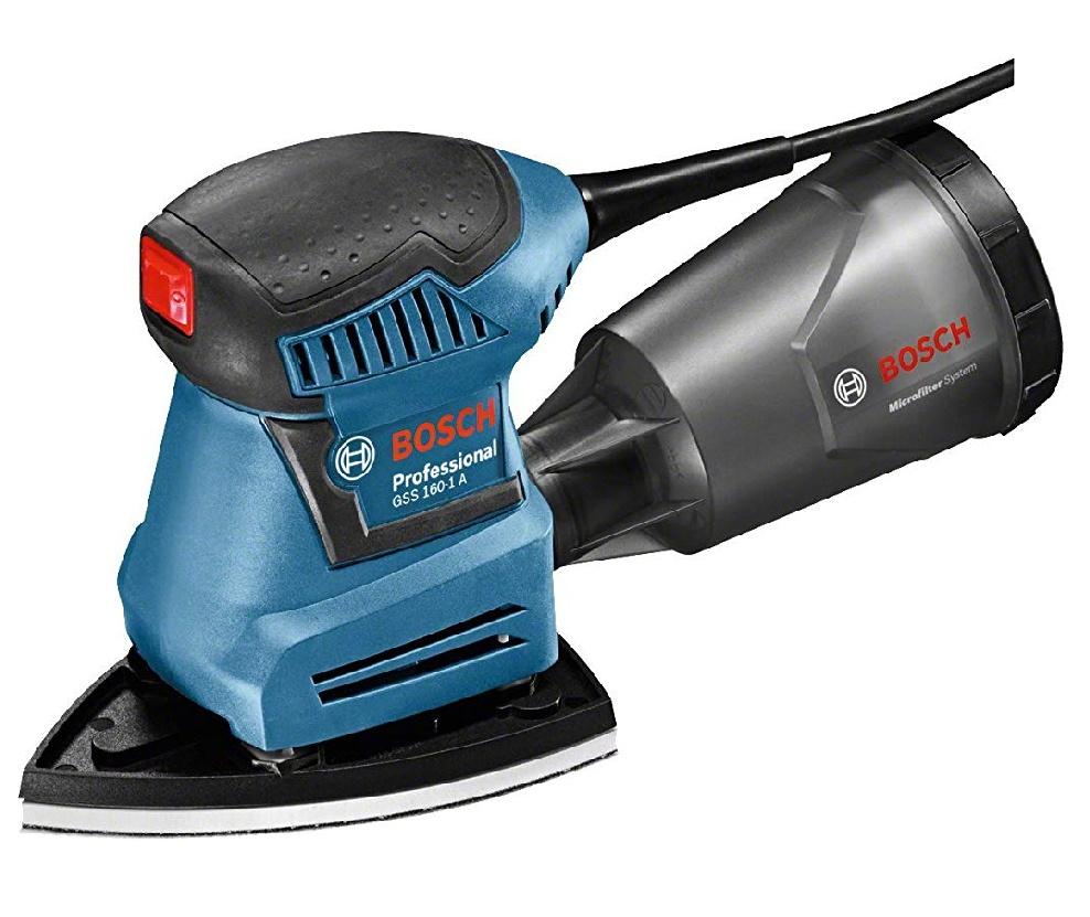 [Primeday] Bosch Professional Schwingschleifer GSS 160-1 A Multi (180 Watt, 1,6 mm Schwingkreis-Ø, in L-Boxx)