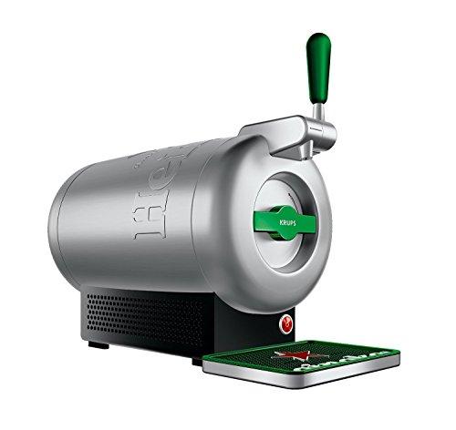 [ Amazon  ] THE SUB Heineken Edition, Krups VB650E10, Luxus-Design von Marc Newson. Genießen Sie zu Hause Premium-Fassbier, Fassbiere aus der ganzen Welt, Extrakühl bei 2° C serviert