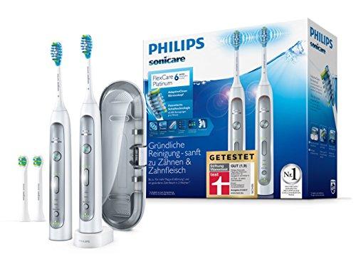 (Amazon Prime) Philips Sonicare FlexCare Platinum 2 Elektrische Zahnbürsten HX9114/37