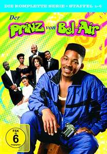 Der Prinz von Bel-Air Die komplette Serie (Staffel 1-6) Limited Edition (23 DVDs) für 29,97€ (Amazon Prime Day)