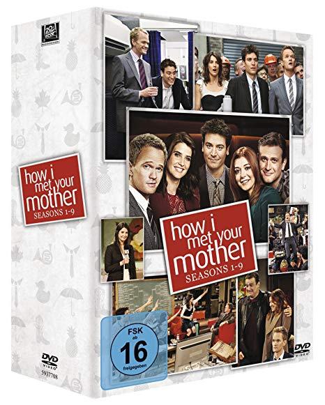 (Amazon.de Prime Blitzdeal) How I Met Your Mother - Seasons 1-9 [27 DVDs] für 28,92 Euro