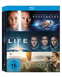 Arrival + Life + Passengers (3x Blu-ray) für 16,97€ (Amazon Prime Day)