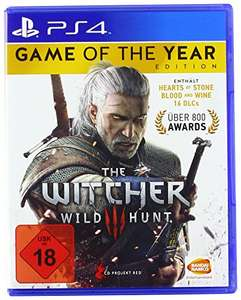 The Witcher 3: Wild Hunt - GOTY-Edition (PS4) für 17,97€ (Amazon Prime Day)