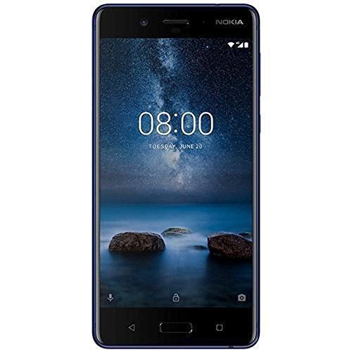 [Amazon Prime Day] Nokia 8 Glossy Blue  13,4 cm (5,3 Zoll, 128 GB ROM, 6GB RAM, 13 MP Kamera, IP54)