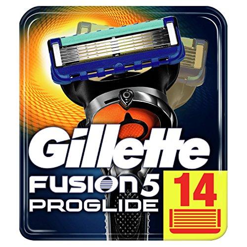 Gillette Fusion5, 14x Proglide Klingen 33% reduziert im Amazon Prime Day