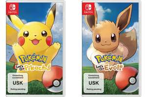 Pokemon: Let's Go, Pikachu / Evoli [Nintendo Switch]