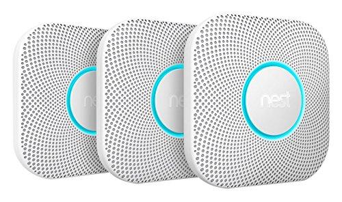 Nest Protect 2. Generation Rauch- und CO-Melder, 3-er Pack für 243,99 EUR [Amazon Prime Day]
