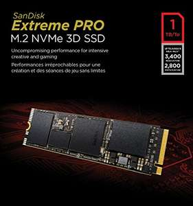 [AMAZON] 1TB SanDisk Extreme Pro M.2 NVME 3D SSD