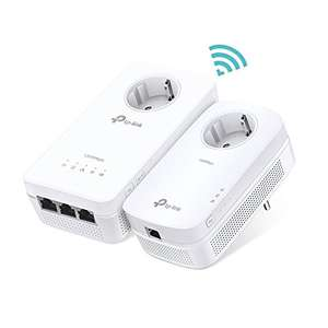 [Amazon Prime Day] TP-Link TL-WPA8630P Kit 3-Port 1300Mbps Passthrough Wifi Powerline Adapter