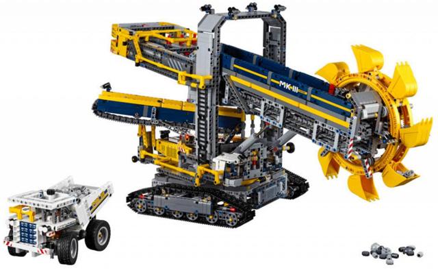 Lego Technic (42055) Schaufelradbagger-Deals zum Montag