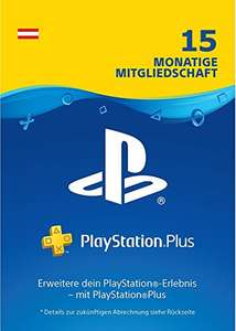 15 Monate Playstation Plus Abo Österreich (AT!)