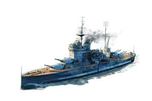 World of Warships Tagesangebot Warspite Tier VI Premium Battleship