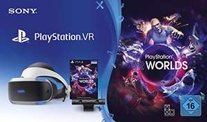 Playstation VR v2 inkl. VR Worlds + 2 Move Controller (alternativ GT Sport für 249,99)