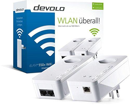 devolo dLAN 550+ WiFi Starter Kit [SCHWEIZ]