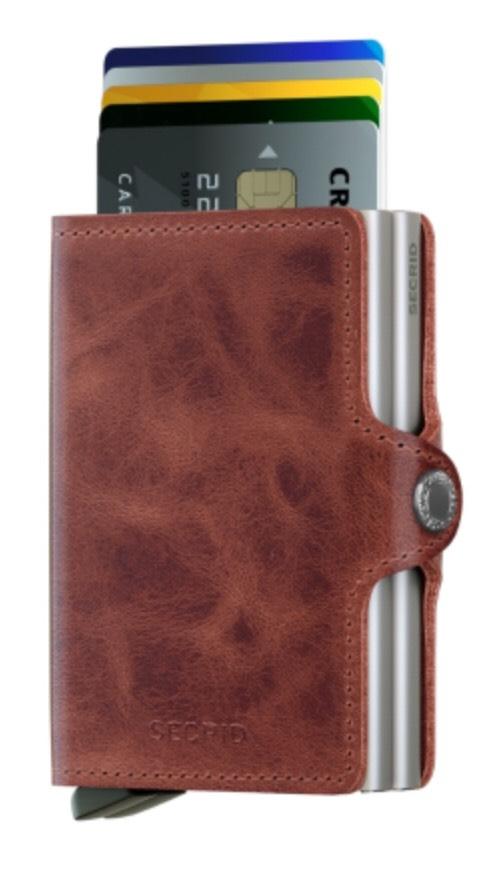 [lokal#Heidelberg] Secrid Twinwallet Vintage Brown Kreditkartenetui