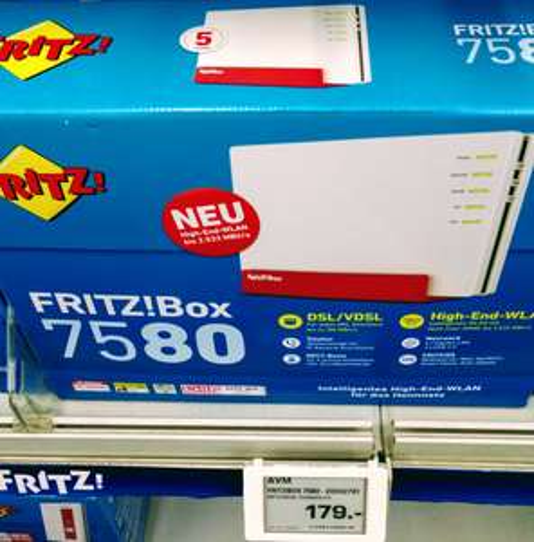 [lokal] [Saturn Berlin-Marzahn] Fritz Box 7580 für 179 Euro