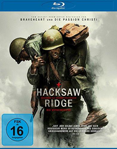 Hacksaw Ridge - Die Entscheidung [Blu-ray] für 5,-€ [Amazon-Prime Day]]