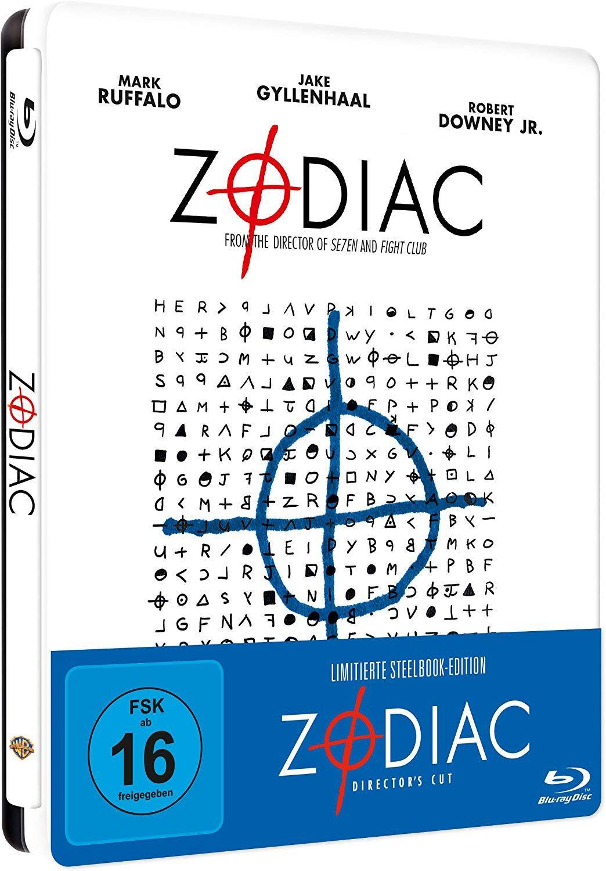 (Prime Day) Zodiac - Die Spur des Killers Steelbook(exklusiv bei Amazon.de)