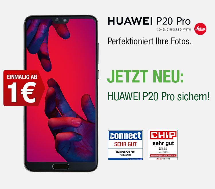 Huawei P20 pro im O2 netz