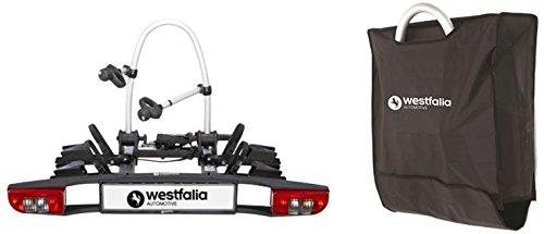 Westfalia BC 60 - Fahrradträger für die Anhängerkupplung ; Amazon Prime Blitzangebot