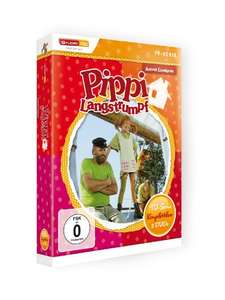 [Prime Day] Astrid Lindgren: Pippi Langstrumpf - TV-Serie Komplettbox [5 DVDs]
