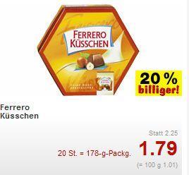 [Offline] Ferrero Küsschen für 1,79€ @Kaufland