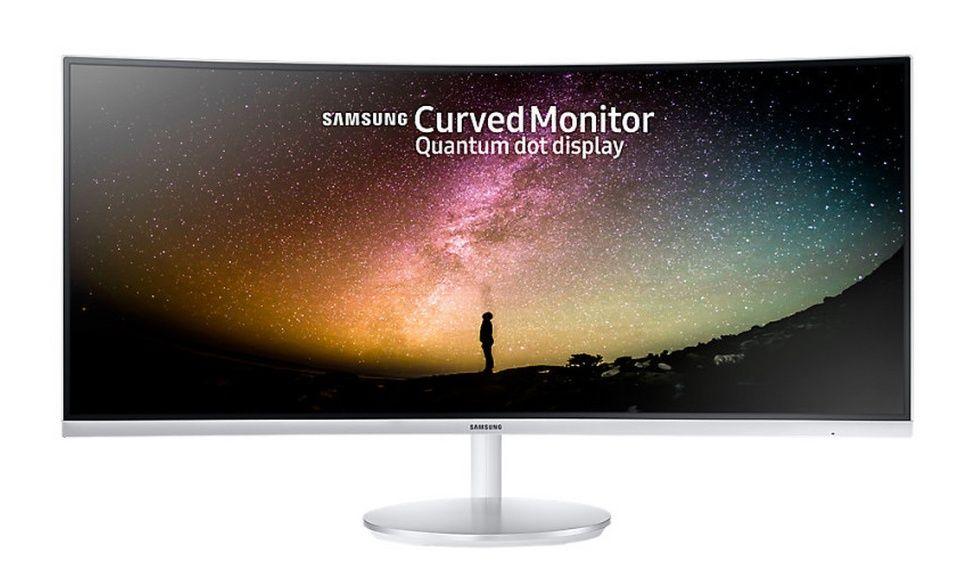 Samsung C34F791WQU - 86 cm (34 Zoll), Curved, AMD FreeSync, Ultra WQHD, Höhenverstellung, HDMI