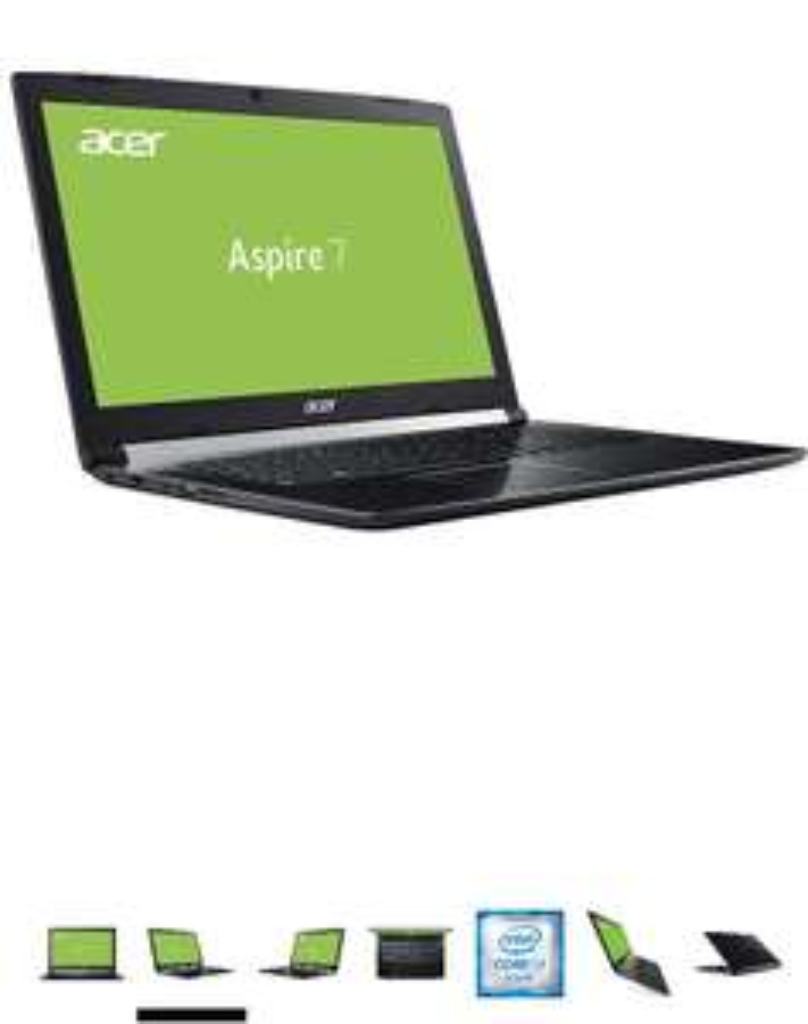 Acer Aspire 7 GTX 1060 / 8750h i7 / 256 PCIe SSD