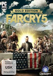 [Amazon Prime Day] 30% auf Far Cry 5 Standard oder Deluxe oder Gold Edition - jeweils Uplay PC / Xbox One Download Code