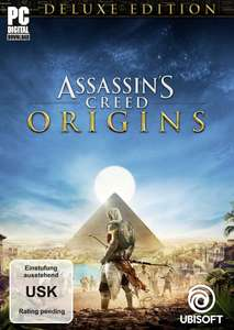 [Amazon Prime Day]  Assassin's Creed Origins - Deluxe Edition [PC Code - Uplay] - Season Pass für 19,97€ - Xbox One Downloads ab 34,99€