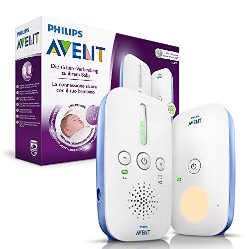 [amazon prime] Philips Avent SCD501/00 DECT Babyphone (Smart Eco Mode, Nachtlicht) in weiß/blau  für 35,99€ im Blitzangebot bis 12:00 Uhr