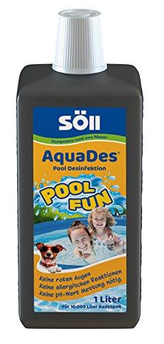 [PRIME DAY] Söll AquaDes - Pool & Planschbecken Desinfektion, Keine allergischen Reaktionen, roten Augen, pH-Wert-Messung