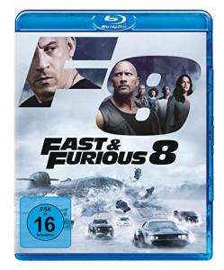 Fast & Furious 8 (Blu-ray) & Baywatch - Extended Edition (Blu-ray) für je 6,97€ (Amazon Prime Day)