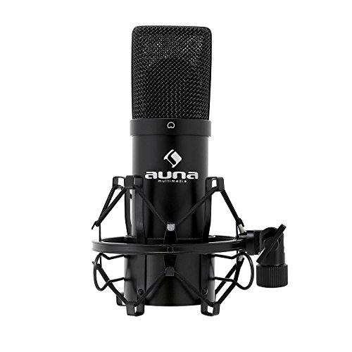 Auna MIC-900B - USB Kondensatormikrofon - Nierencharakteristik