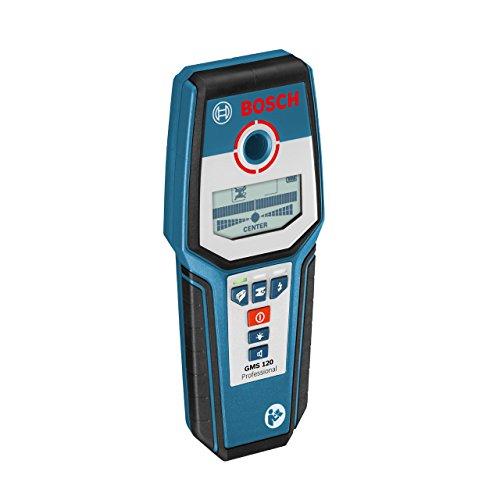 [Amazon Prime Day] Bosch Professional Digitales Ortungsgerät GMS 120 (1x 9 V Block Batterie, max. Ortungstiefe Stahl/Kupfer/stromführende Leitungen: 120/80/50 mm, in Schutztasche)