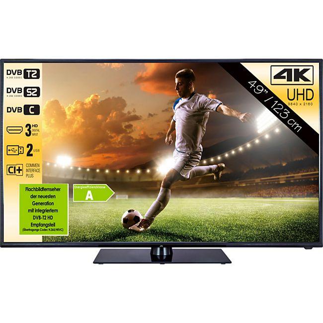 JTC Nemesis 4.9,  49'' UHD Fernseher, Triple Tuner