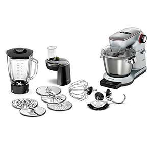 [Amazon Prime Day] Bosch Optimum MUM9DT5S41 Küchenmaschine (1500 Watt, SensorControl Plus, edelstahl-Rührschüssel, 7 Schaltstufen) platinum silber