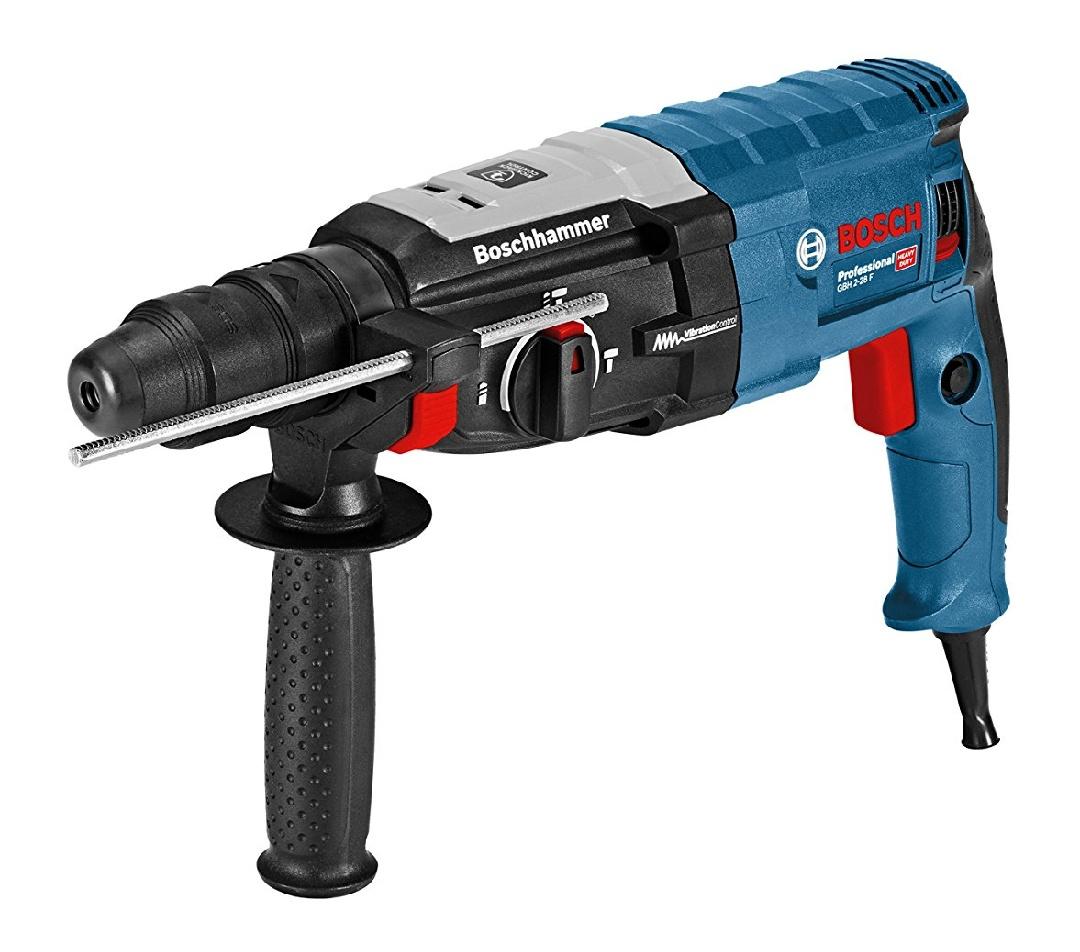 Bosch Professional Bohrhammer GBH 2-28 F (880 Watt, Wechselfutter SDS-plus, Bohr-Ø Beton max: 28 mm, in L-Boxx) [Prime Day Blitzangebot bis 16.50 Uhr]
