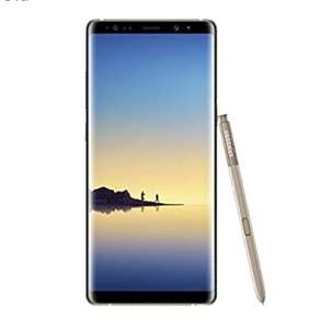 Samsung Galaxy Note 8 in Gold @AmazonPrimeday
