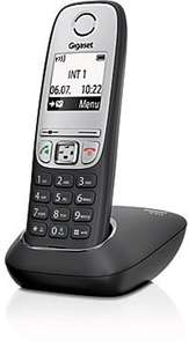 [Amazon Prime Day] Gigaset A415 Telefon - Schnurlostelefon/Mobilteil mit Grafik Display - Dect-Telefon mit Freisprechfunktion - Analog Telefon - Schwarz