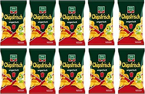 funny-frisch Chipsfrisch Ungarisch, 10er Pack Amazon Prime